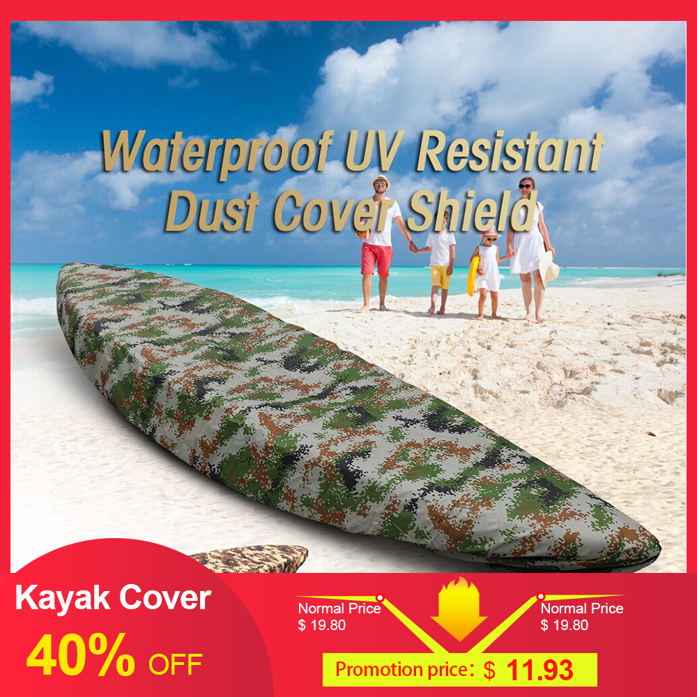 Professional Kayak Cover Canoe Waterproof Boat Storage Transport Dust Inflatable Shield