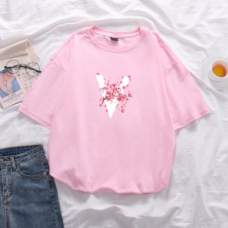 Women's 2020  Large Size Loose Short Sleeve Cotton T Shirt Unisex Mid-Long Tops Soft T-Shirt Summer
