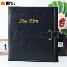 6 Inch 800 Sheets Insert Type PU Leather Photo AlbumLarge Capacity  Family Baby Wedding Foto Album Picture Book Gift for Friends