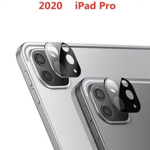 For Apple iPad Pro 11 12.9 Inch 2020 Metal Tempered Glass Screen Rear Camera Lens Protector tablet Case Cover