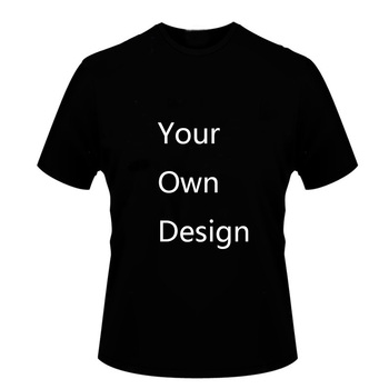 Dropshipping Customized Print Your OWN Design Logo/Picture Men Clothing Summer Cotton T shirt Short sleeve Casual T-shirt fuwatacchi design picture here print