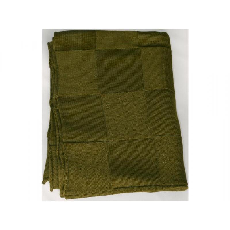 Plaid knitted Square (khaki)