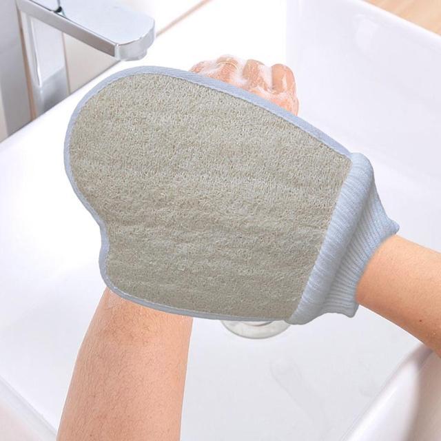 New Natural Loofah Washing Pad Bath Show Brushe Bath Shower Sponge Body Washing Scrubber Exfoliator Body Care Tools Accessories 1