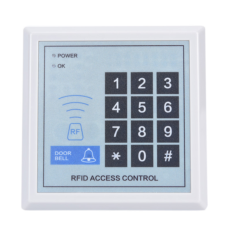 Security RFID Proximity Entry Door Lock Access Control System Device Machine 11.8cm x 11.8cm x 2.2cm