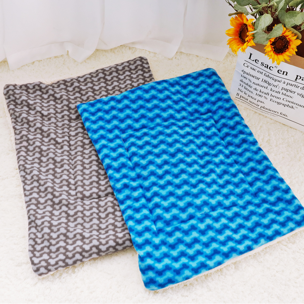 Soft Fleece Winter Puppy Kennel Bed Mat