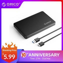ORICO 2,5 дюймов hdd корпус sata для usb 3,0 HDD корпус SSD адаптер для samsung Seagate корпус ssd, hdd внешний жесткий диск