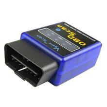 Bluetooth V2.1 ELM327 OBD2 Diagnostic Scanner Automobile OBD Code Readers For Opel Renault Subaru Kia Saab
