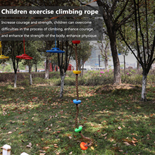 Color Disc Climbing Rope Outdoor Sports Swing Rope Children's Exercise Climbing Rope Children's Outdoor Plays Equipment