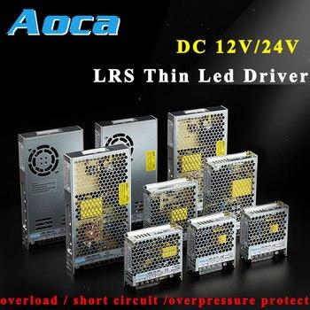 цена на Switching Power Supply AC85-265V 110V/ 220V to DC24V SMPS 12VDc led driver 30A CCTV Power Supply 12VPSU Mode Power for Led Strip