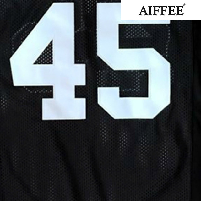AIFFEE Football Jersey from Movie tv Hip Hop Shirts Tees t shirt Stitched Costume 44 42 13 33 45 Stitched Name and Number S-3XL 4