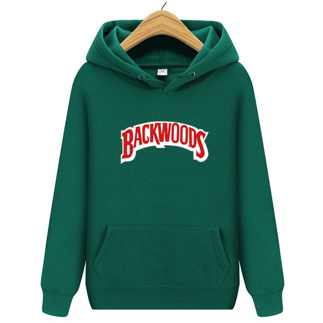 New Brand Men Sportswear Fashion brand Backwoods Print Mens hoodies Pullover Hip Hop Mens tracksuit Sweatshirts hoodie sweats 2