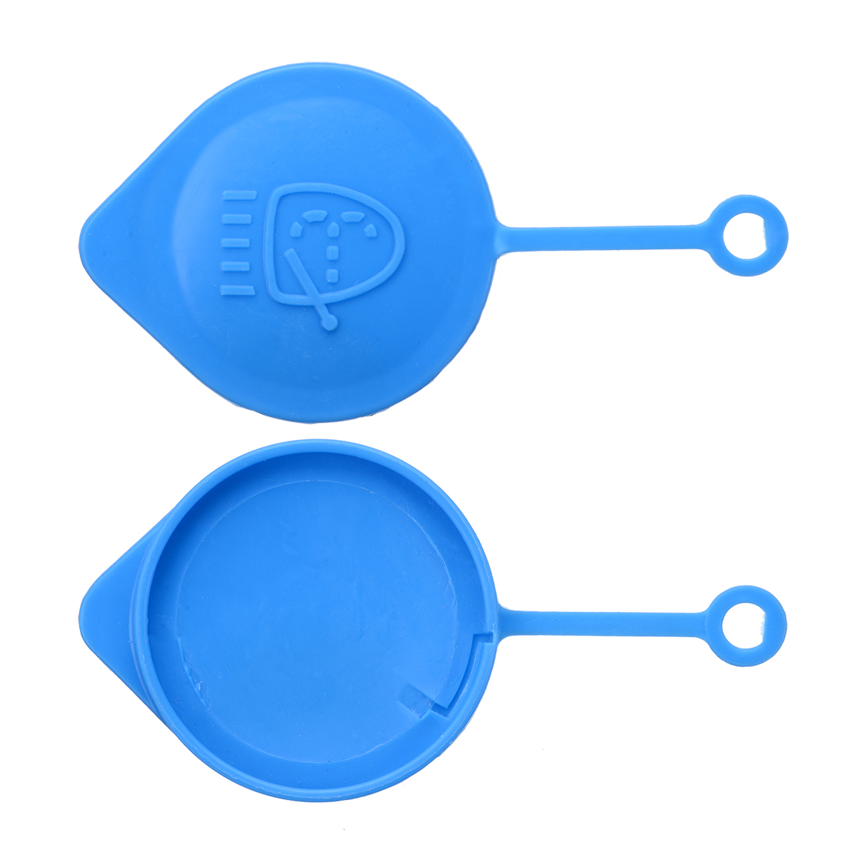 1pcs Blue Windshield Washer Bottle Cap Lid Cover Windshield Washer Practical Wiper Accessories For Honda Accord Civic CRV CRX