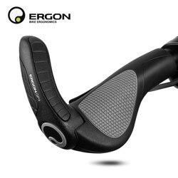 Kierownica rowerowa uchwyty ERGON GP1 GP3 końcówka rowerowa montaż zacisku uchwyt rękojeści ergonomia guma MTB blokada rowerowa uchwyty w Uchwyty rowerowe od Sport i rozrywka na