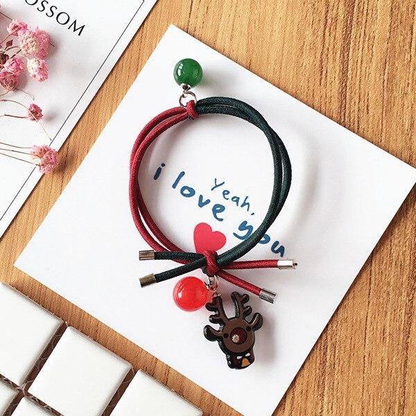 Sino Tie Knot Rubber Band Hair Styling ferramentas Acessórios HA1197