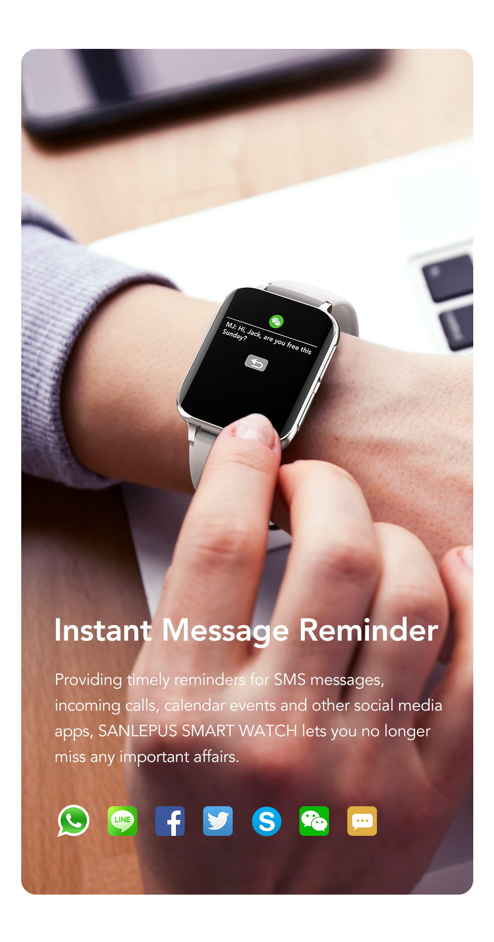 H79029544b94c43a29a877bb31a664bc5Q SANLEPUS 2021 NEW Dial Calls Smart Watch Men Women Waterproof Smartwatch MP3 Player For OPPO Android Apple Xiaomi Huawei