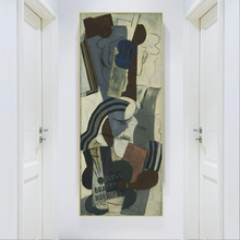 Citon Pablo Picasso《Woman with a Guitar》Canvas Art Oil Painting Artwork Poster Picture Modern Wall Decor Home Decoration duchting hajo pablo picasso