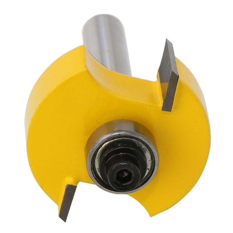 A0kf rabbet roteador bit com 6 rolamentos