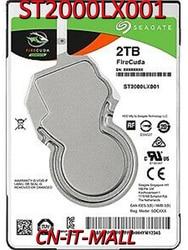 Seagate Firecuda Gaming Sshd ST2000LX001 2 Tb Sata 6.0 Gb/s 2.5 Notebooks Interne Harde Schijf