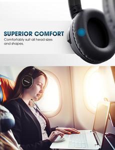 Image 5 - Mpow auriculares inalámbricos H18 con Bluetooth, dispositivo con cancelación activa de ruido, rango de 17m/56 pies y 50 horas de autonomía