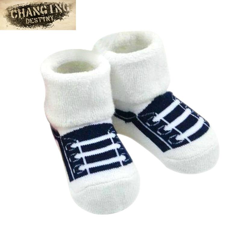 0-2 Years Old Winter Cotton Baby Cartoon Socks Thick Warm Animal Terry Socks For Children Newborn