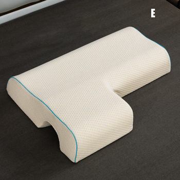 Couples Pillow Arched Cuddle Pillow with Slow Rebound Memory Foam for Arm Rest Hand Pillow SNO88