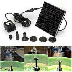 Fontanna solarna zestaw do podlewania moc pompy słoneczne basen staw zatapialny wodospad pływający Panel słoneczny fontanna do ogrodu