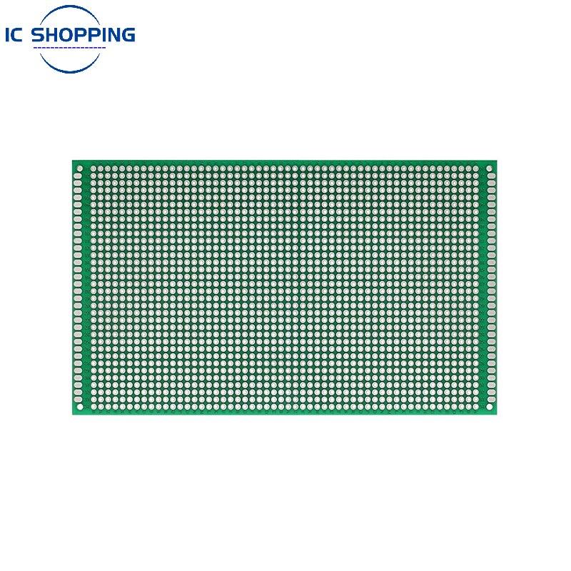 9mmX15mm Prototype DE Circuit IMPRIMÉ Double Face PCB pour BRICOLAGE Soudure Platine De Prototypage Trou Conseil 9*15 À Usage Général de Circuit Imprimé