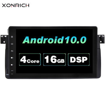 AutoRadio Car Multimedia Player 1 Din Android 9.0 For BMW E46 M3 Rover 75 coupe 318/320/325/330/335MGZT GPS Navigation head Unit image