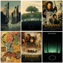 Movie Lord of the Rings classic retro poster home decoration painting
