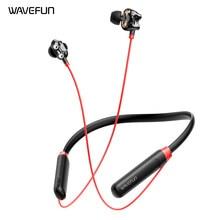 Wavefun Flex U Dual 8 мм колонки с глубоким басом наушники Bluetooth 5,0 Беспроводной наушники 10 часов время работы в режиме воспроизведения музыки, детска...