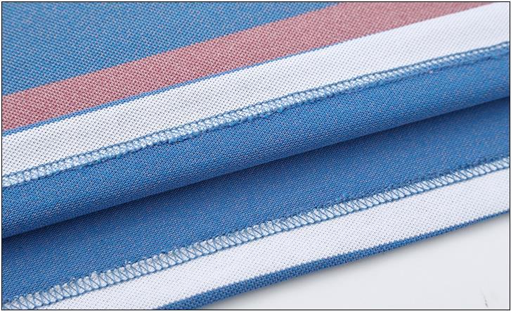 BATMO 2020 new arrival summer cotton striped polos men,men's polo-shirt ,DT2102