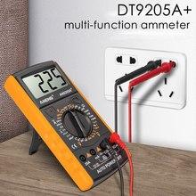 Cyfrowy multimetr DC profesjonalny Tester Elektrische esr NCV miernik testowy analogowy multimetr automatyczny tanie tanio Urijk Elektryczne CN (pochodzenie) PWM Pulse Frequency 2m-20m-200m-20A 200mV-2V-20V-200V-750V 200-2k-20k-200k-2M-20M-200M omh