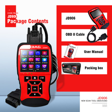 JDiag JD906 professional obd2 OBDII automotive scanner Car Diagnostic Tool Full