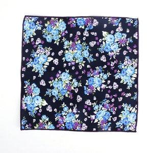 Image 5 - Pañuelos de pañuelo coloridos para hombre, pañuelos de flores Vintage, pañuelos cuadrados de bolsillo para hombre, Paisley con flores rosas, nuevo estilo