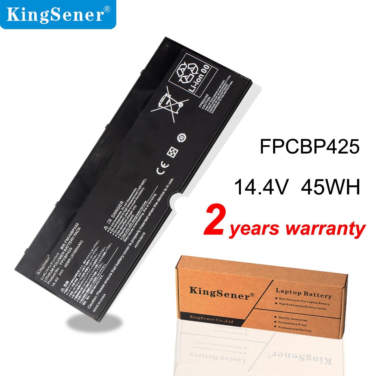Kingsener FPCBP425 FMVNBP232 Laptop Battery For Fujitsu Lifebook U745 T935 T904U Series FPB0315S 14.4V 45Wh 3150mAh