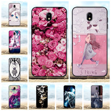 For Case Samsung Galaxy J3 J5 J7 2017 J730F Pro Cover 3D Flower Coque Fundas Silicone Phone Cases