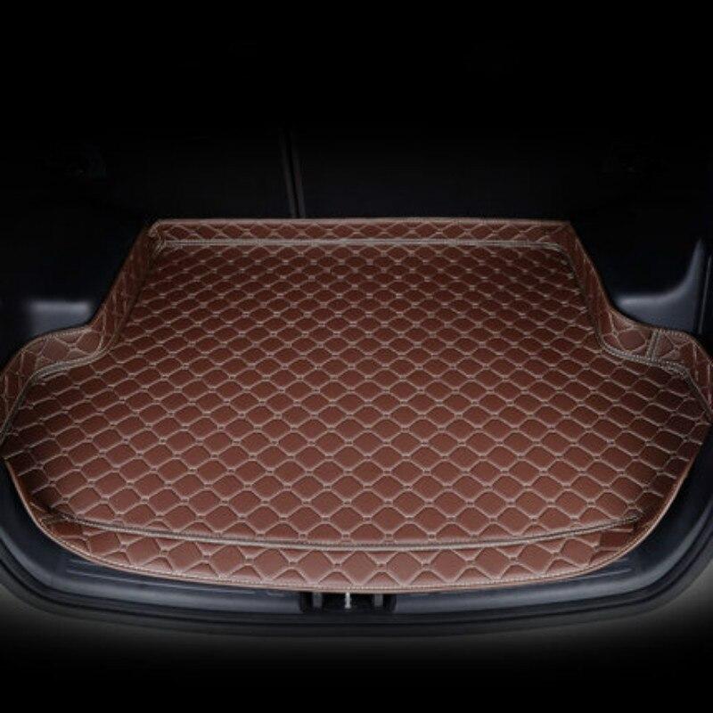 Custom 3D Full Covered Car Trunk Mats For Trumpche GS4 GS5 GS8 GS3 GA3s GA4 GA8 Waterproof Durable Rear Boot Cargo Carpets