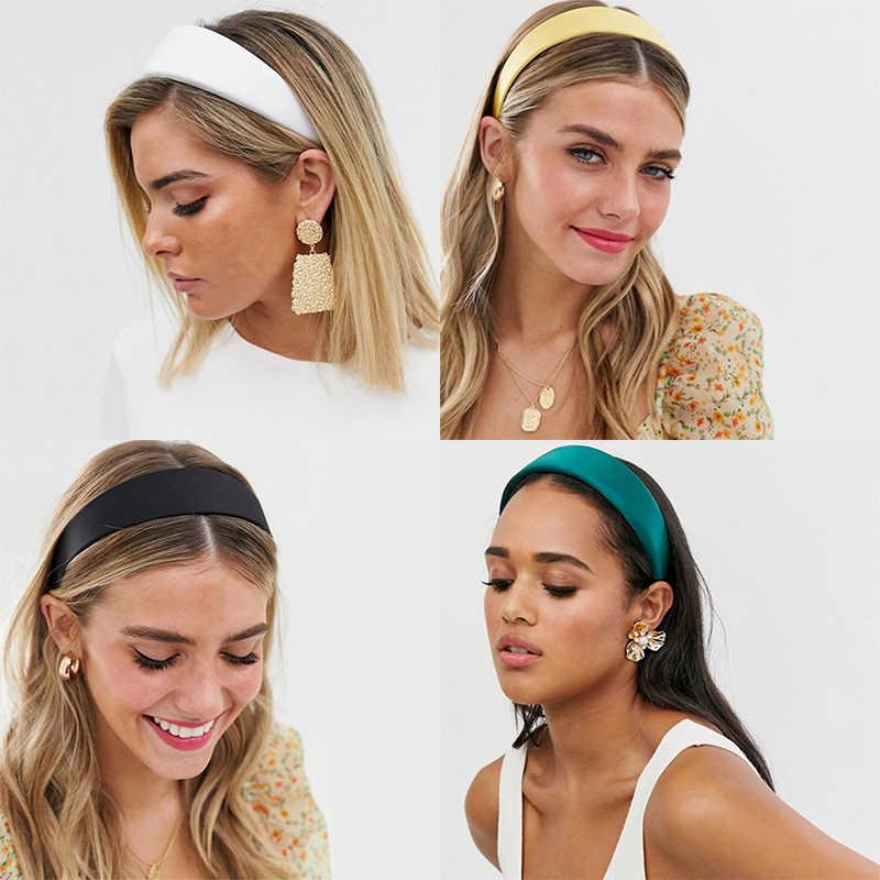 LEVAO 2020 สังเคราะห์หนังHeadband Elegant Hairband Bezel Turbanโบฮีเมียสำหรับหญิงสาวอุปกรณ์เสริมผมHoop Headwear