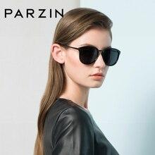 Parzin óculos de sol feminino marca de luxo revestimento espelho polarizado óculos de sol para condução sexy senhora lentes sol mujer