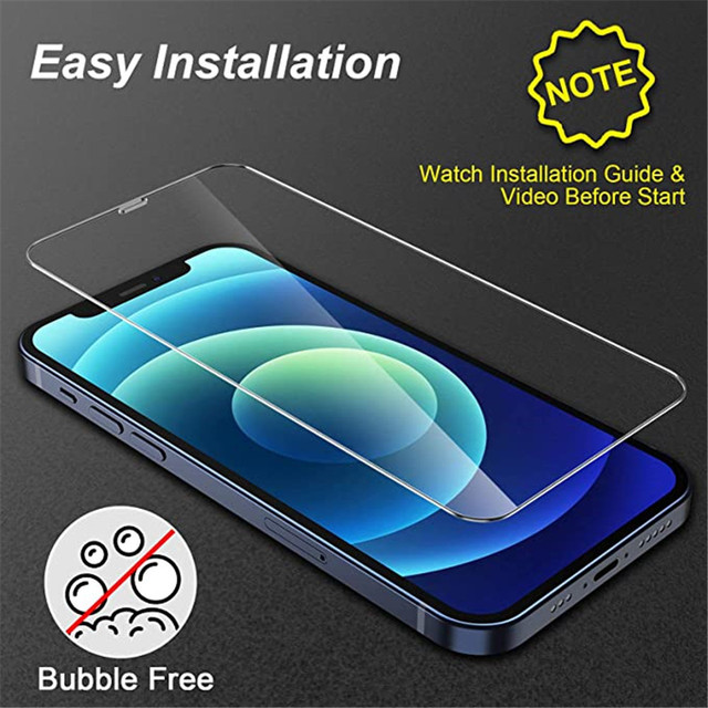 4Pcs Tempered Glass For iPhone 11 12 Pro XS Max X XR Full Cover Screen Protector For iPhone 7 8 6 6S Plus SE2 Protective Glass 6