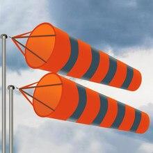 80/100/150 cm reflexivo windsock cinto ao ar livre rip-stop vento sock saco quente na venda