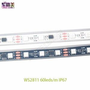 Image 3 - DC12V 5M WS2811 LED פיקסל רצועת אור Rgb מלא צבע 5050 Led רצועת סרט גמיש מיעון דיגיטלי LED קלטת 1 Ic בקרת 3