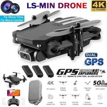 Ls Mini Rc Drone 4K 1080P Hd Camera Wifi Fpv Luchtdruk Quadcopter Drone Hoogte Hold Speelgoed Grey rc Wit Rtf Zwart Foldab J8O7(China)