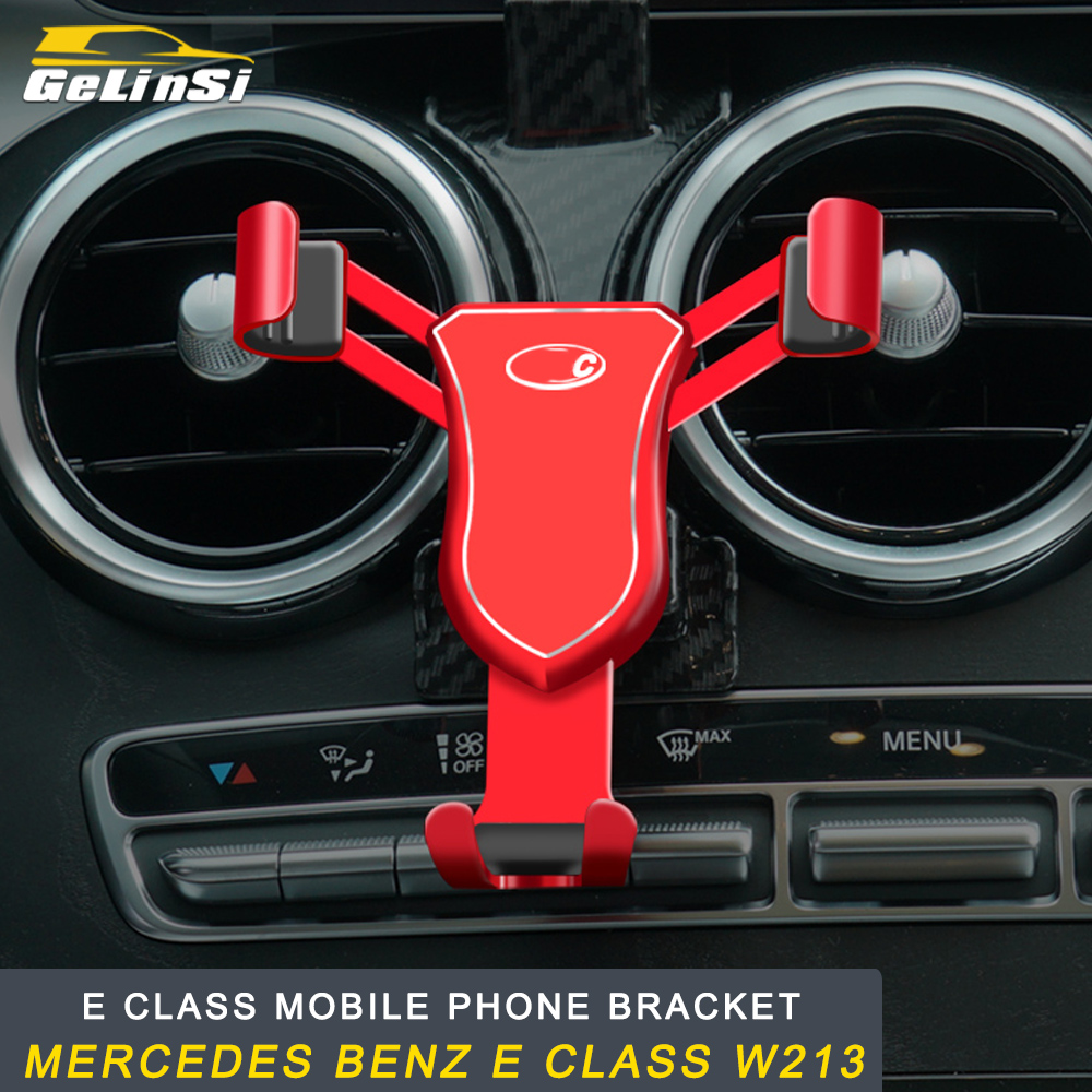 GELINSI Mobile Phone Bracket Mobile Phone Support Accessories for Mercedes Benz E Class W213 Auto