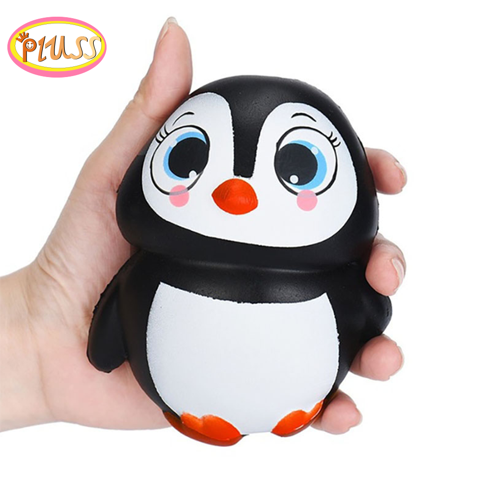 Squishy Kawaii Keychain Popcorn Dog Penguin Squeeze Pack Deer Slow Rising Antistress Cream Scented Wholesale Exquisite Kids Gift