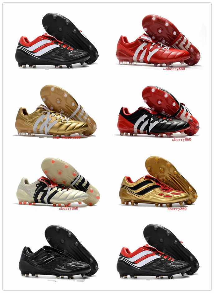 tobillo asiático Higgins  2018 mens soccer cleats Predator Precision TF IC turf football boots  Predator Mania Champagne FG indoor soccer shoes high qualit| | - AliExpress