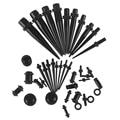 36 шт/партия 1,6-10 мм вилка, тоннель для уха раздвижной стержень расширитель комплект ювелирные изделия с расширителем для тела