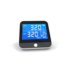 1pc Portable Air Quality Monitor Temperature Humidity tester CO2 Detector Classrooms Restaurants CO2 monitor PM2.5 Detection