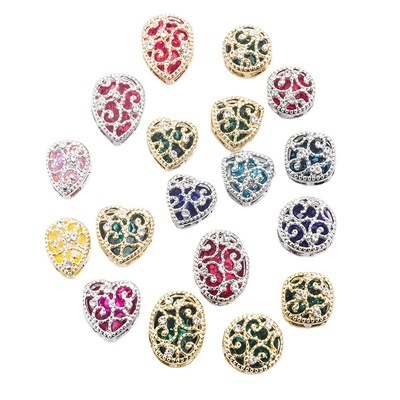 Super Shine Colorful Mix Colors & Shapes Sew On Stones Glass Crystal Beads with Beautiful Metal Claw Setting For Dress
