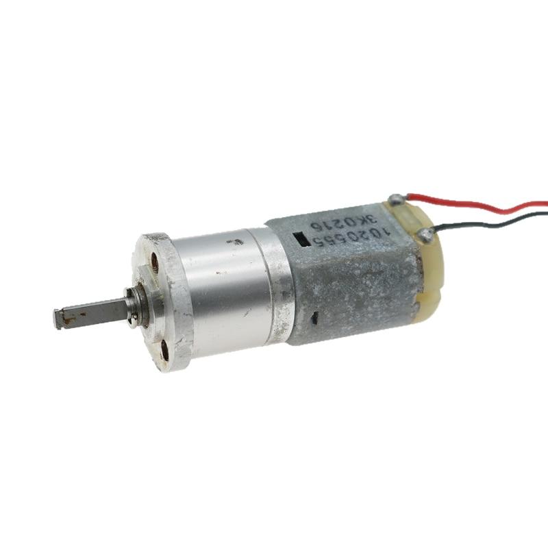 1PCS DC Gear Box Motor High Torque Planetary Speed Reducer D Shaft 4mm diameter
